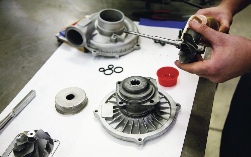Сколько времени занимает ремонт турбины?